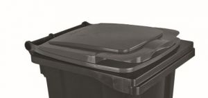 T910130 Couvercle gris pour conteneur à déchets externe 120 litres
