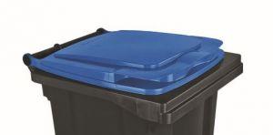 T910132 Couvercle bleu pour conteneur à déchets externe 120 litres