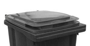 T910250 Couvercle gris pour poubelle externe 240 litres