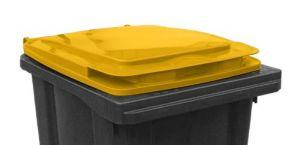 T910251 Coperchio Giallo per contenitore rifiuti esterni 240 litri