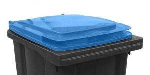 T910252 Couvercle bleue pour poubelle externe 240 litres