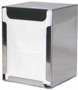 ITP1315 Porte-serviettes de table et de table - serviettes pliées 17x17 cm