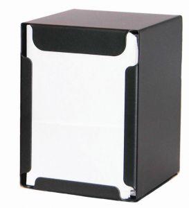 ITP1315N Serviette de table et serviette de table NERO - serviettes pliées 17x17 cm