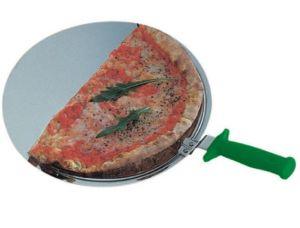 AV4905 Paletta servipizza rotonda in acciaio inox Ø50cm