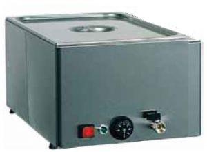 BMV11 Stainless steel countertop bain marie food warmer 1x1/1GN drain 54x33x22h