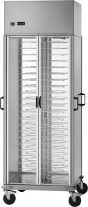 CA1439R Chariot réfrigéré portaassiettes +8°+12°C capacité 88 assiettes Ø18/23