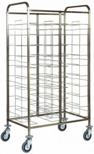 TCA 1465 Universal tray-holder trolley 20 trays