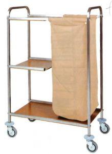 CA1501 Carrito de lavandería limpieza de usos múltiples  79x43x129h