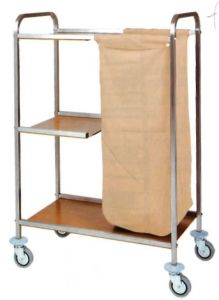 TCA 1501 Trolley for laundry cleaning multipurpose 79x43x129h