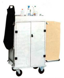 CA1530 Carrello portabiancheria pulizia multiuso armadiato