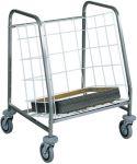 TCA 631 Chariot distribution rangement plateaux Capacité 130 plateaux