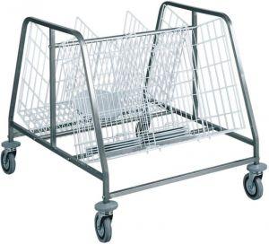 CA659 Dish cart 2 baskets 200 dishes
