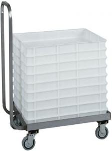 CB1444 Stainless steel Cart for pizza dough container size 60x40