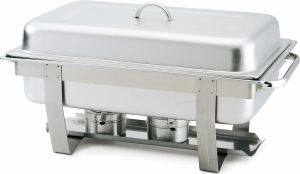 CD7905 Chafing dish con tapa acero inoxidable