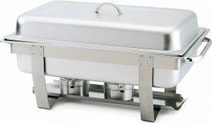 TCD 7905 Chafing dish con tapa acero inoxidable