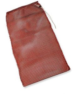 00001832R Sacco Lavaggio Ricambi E Panni Colorato - Rosso -