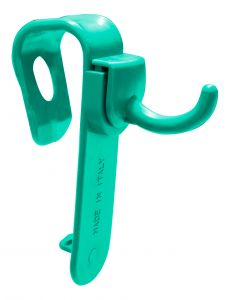 00003323 Supporto per Ganci Vaschetta Magic - Verde - Con G