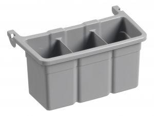 00003356E Modulo aggiuntivo per vaschetta Porta-Flaconi - Grigia