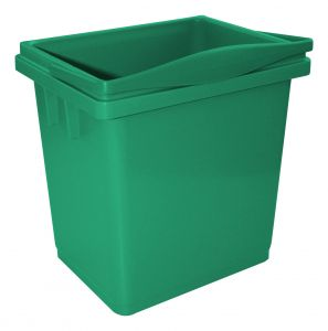 00003366V Secchio 4 L Con Manico Superiore - Verde