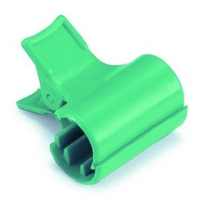 00003550 Clip Fermasacco - Verde
