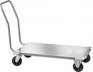 CPB1474 Stainless steel Low platform trolley