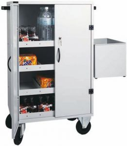 CR1696 Mini bar supply trolley 80x50x118h