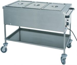 CTS1757 Thermal trolley with dry heating element GN 1x1/1 56x65x85h