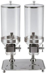 DC10302 Dispensador de cereales doble 8+8 litros