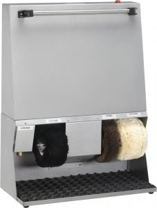 LU4120  Shoe-cleaning machine white 62x30x83h