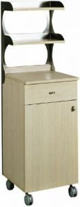 ML3210SN Single oak shelf support service cabinet