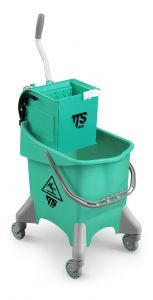 0V036470 Secchio Pile O-Key - Verde - Strizzatore Grigio