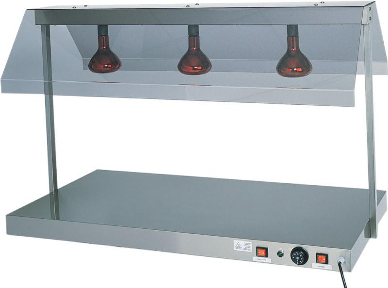 Tpci piano caldo acciaio inox lampada infrarossi h