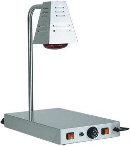 PCI4718 Placa caliente de acero inox con lámpara de infrarrojos 58x33x68h