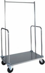 PVI4024 Stainless steel luggage and clothing stands