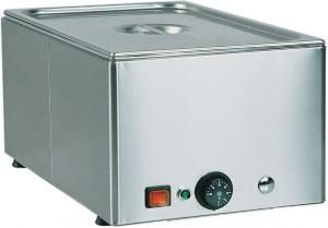 BM21 Tavola calda banco acciaio inox 2x1/1GN 66x54x22h