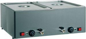 BMV31 Mesa caliente baño maria de acero inoxidable 3x1/1GN Diferentes temperaturas