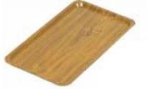 AV4585 Vassoio in laminato Gastronorm teak 53x32,5