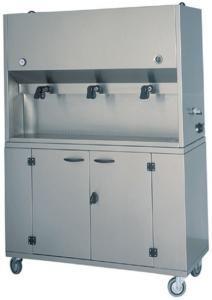 DCM1701 Distributeur petit-déjeuner 3 conteneurs 15 litres 106x41x135h