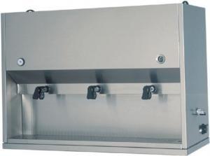 DC1704 Distributeur pour petit-déjeuners de table 2 bacs 15 liters 75x41x71h
