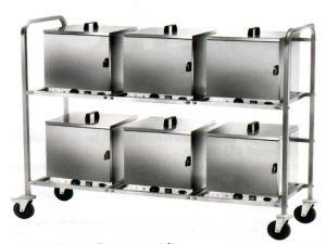 CPC600 Chariot porte-boîtes thermiques avec prise électrique