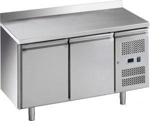 G-GN2200TN-FC Table réfrigérée  ventilée, structure en acier inoxydable AISI201, -2/+8 °C