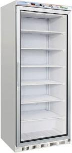 G- EF600G  Statcio ECO Armoire réfrigérée à porte de verre - Capacité 555 Lt - Temp négative