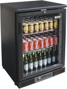 G-BC1PB Présentoir réfrigéré pour boissons de 140 litres avec temp. + 2 / + 8 ° C