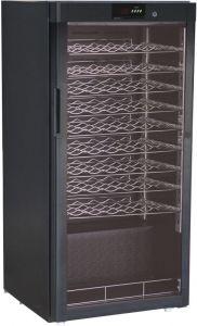 G-BJ208 Capacité de cave à vin 54 bouteilles température de réfrigération statique + 5 ° / + 18 ° C