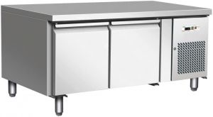 G-UGN2100TN - Ventilated refrigerated table for gastronomy, 65 cm high
