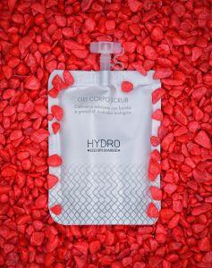 HY-1081 Scrub Corpo Doypack 30ml cosmetico ai fiori di tiglio con estratto di ginkgo biloba 200 pezzi