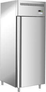 G-GN650TN-FC - Réfrigérateur professionnel à porte simple en acier inoxydable AISI201