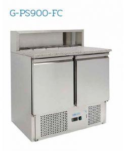 G-PS900-FC Saladette réfrigérée - Température + 2 ° / + 8 ° C - N. 2 portes - Capacité 240 litres