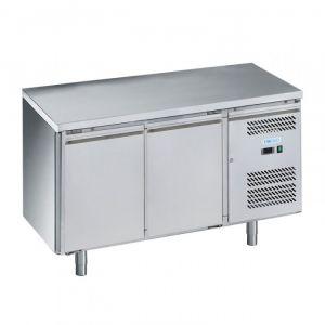 G-SNACK2200TN-FC Table réfrigérée ventilée 2 portes - Temp -2 ° + 8 ° C - Capacité Lt 159