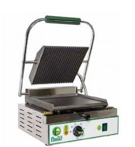 PE25LN Plaque electrique de cuisson en fonte lisse/rainuree simple monophasé 1700W